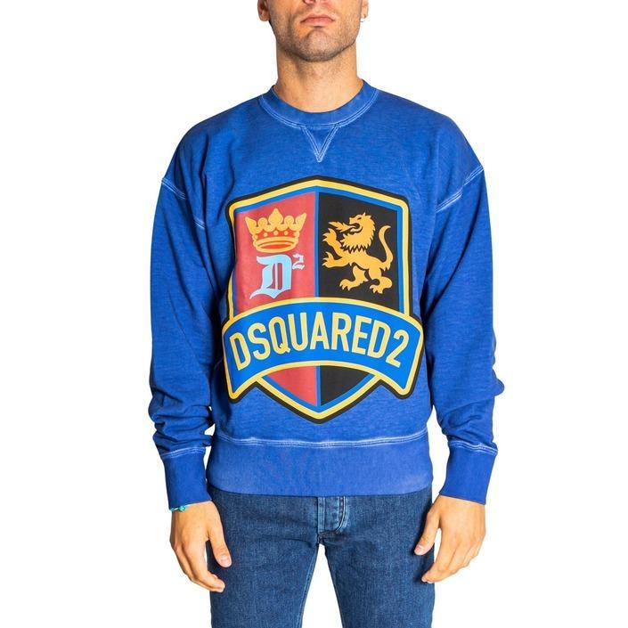 Dsquared2 - Dsquared2 Men Sweatshirts - blue L