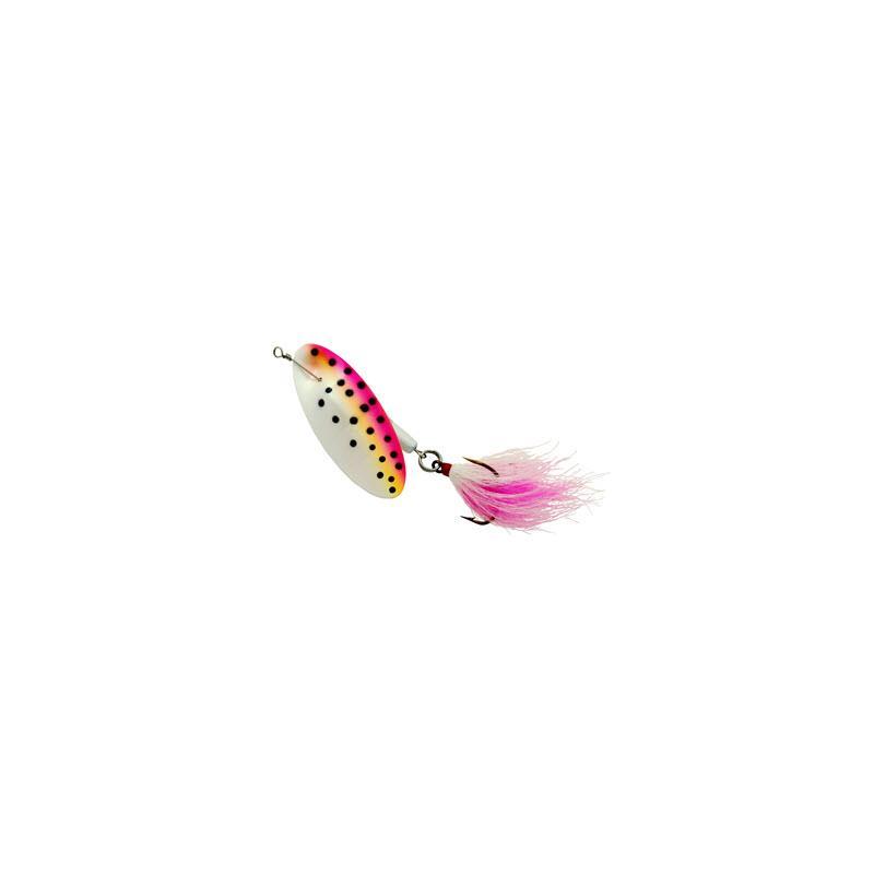 Sølvkroken Spesial Spinner Bucktail 28g PW/BL/D