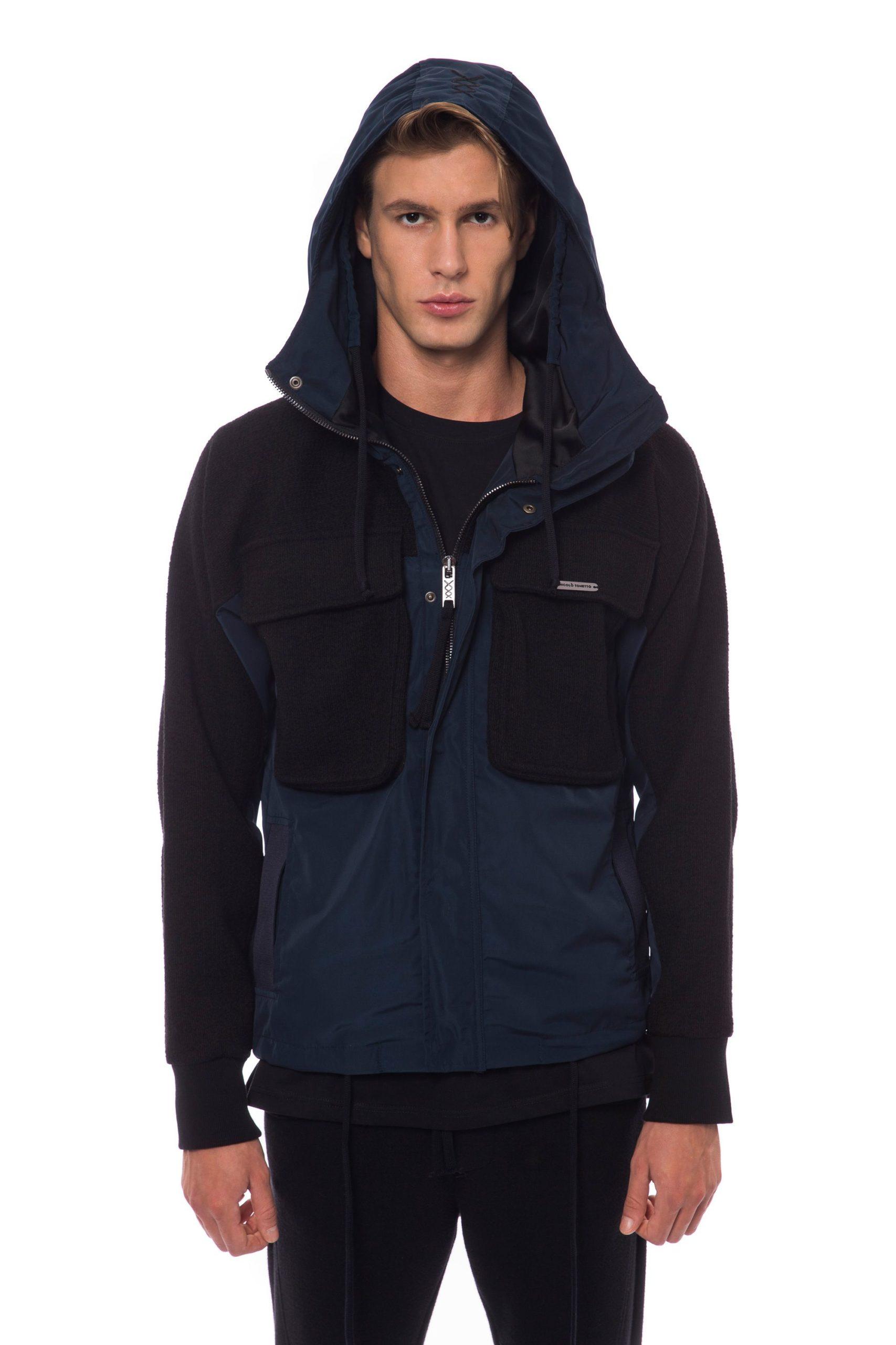 Nicolo Tonetto Men's Jacket Black NI822798 - S