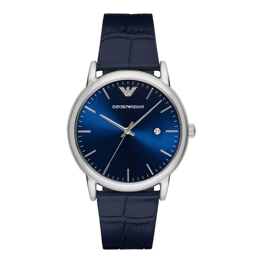 Emporio Armani Men's Sunray Dial Watch Blue AR2501