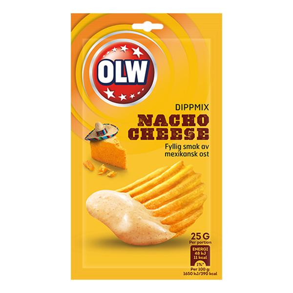 OLW Dippmix Nacho Cheese - 25 gram