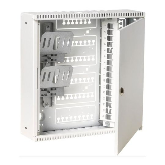 Schneider Electric 518533644 Laajakaistakeskus 355 x 355 x 100 mm, teräslevyä