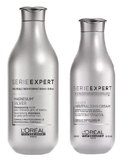 L'Oréal Professionnel - Silver Shampoo 300 ml + Conditioner 200 ml