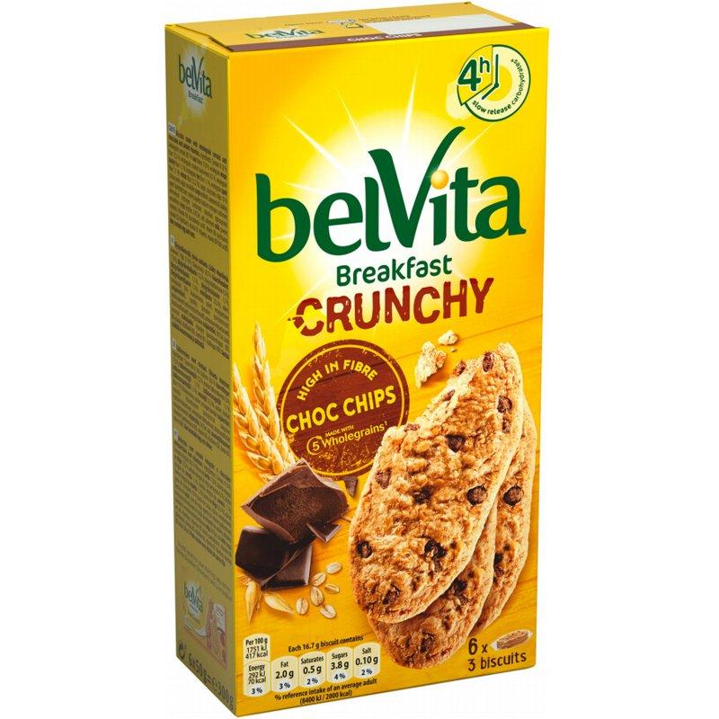 """Täysjyväkeksit """"Choco Chips"""" 300g - 50% alennus"""
