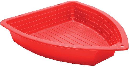 Starplast Sandkasse og Basseng Båt, Rød