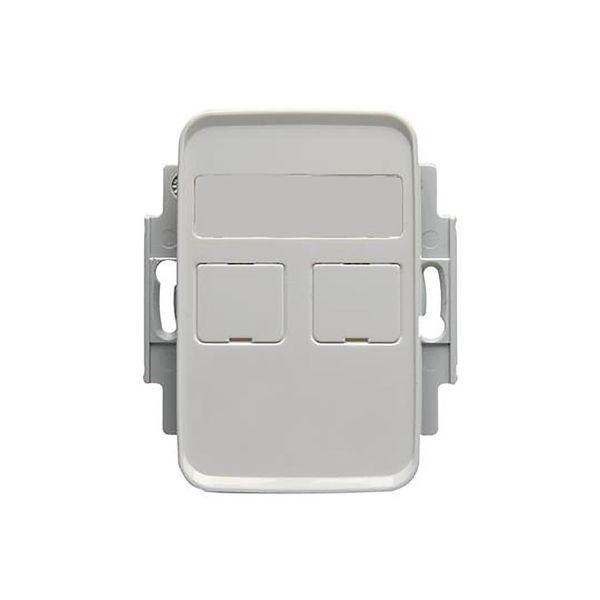 ABB FOT5010-100 Midtplate 2 porter, 100 mm AMP