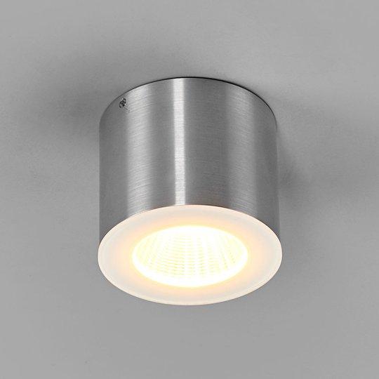 Helestra Oso LED-valaisin, pyöreä, matta alumiini