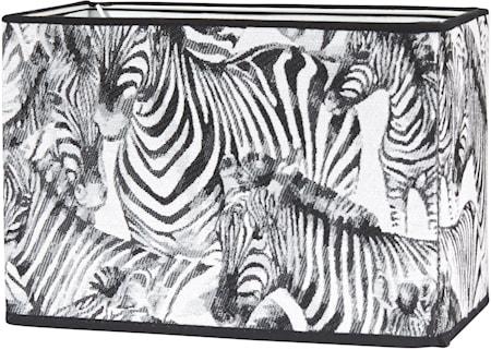 Rakel Lampskärm Zebra 23cm