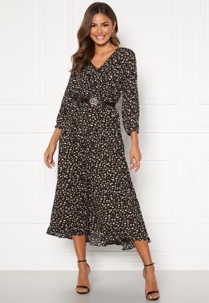 Happy Holly Bianka maxi dress Black / Patterned 32/34