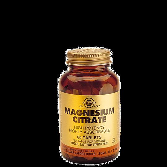 Magnesiumsitraatti 200mg, 120 tablettia