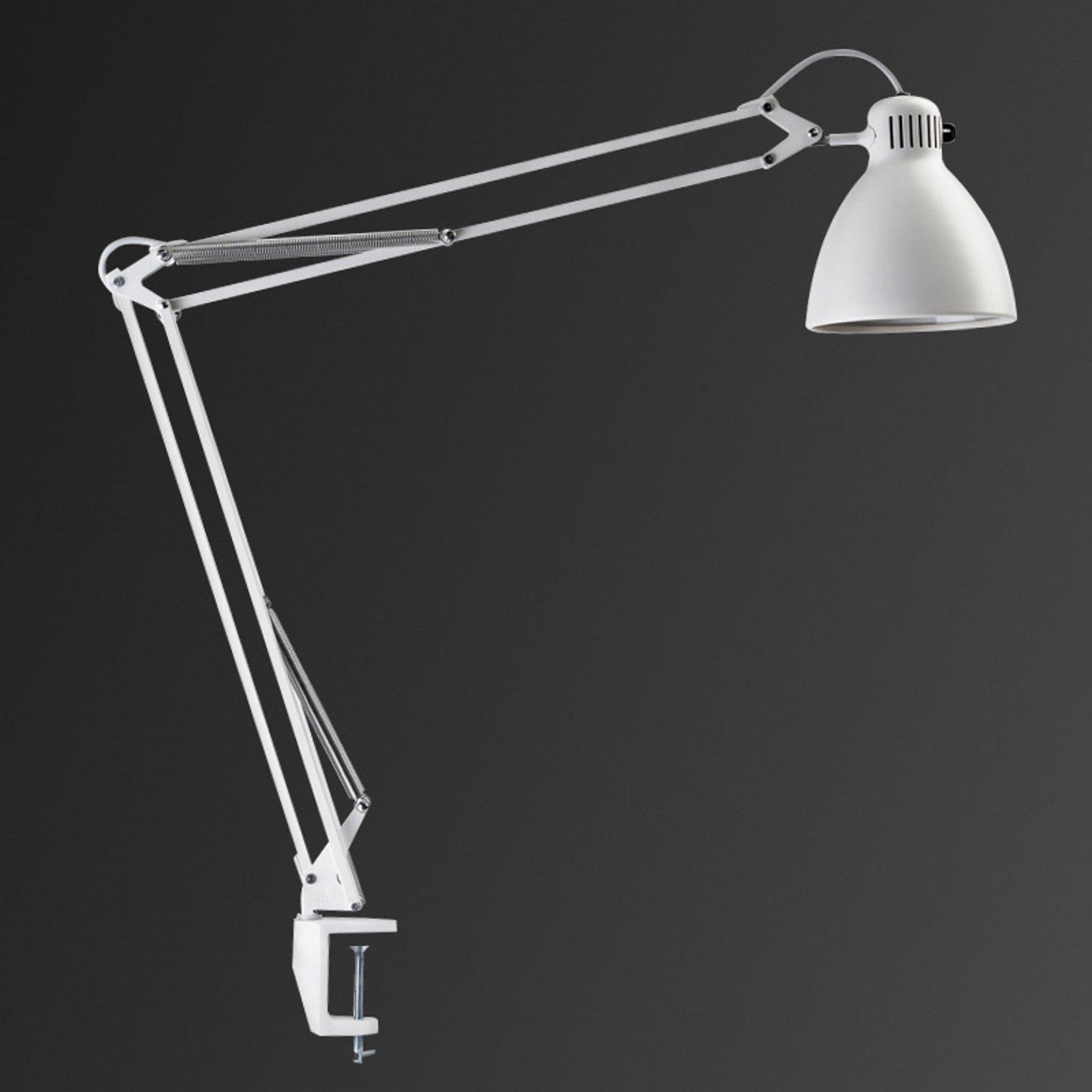 Innovativ klemmelampe L-1 LED, hvit