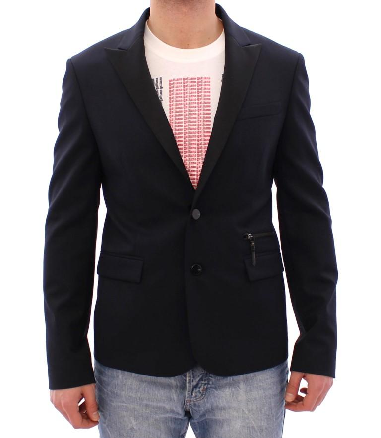 Costume National Men's Wool Two Button Blazer Blue GSS30032 - IT48 | M