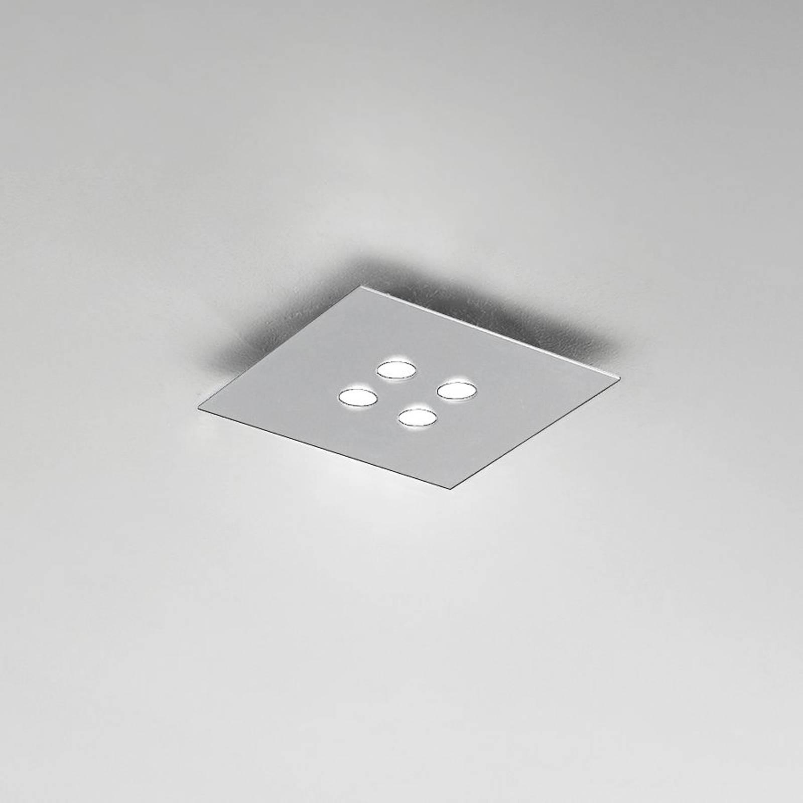 ICONE Slim -LED-kattovalaisin, 4-lamppuinen