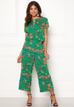 Happy Holly Addy wide pants Green / Patterned 32/34