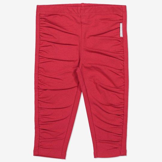 Bukse drapert nyfødt rød
