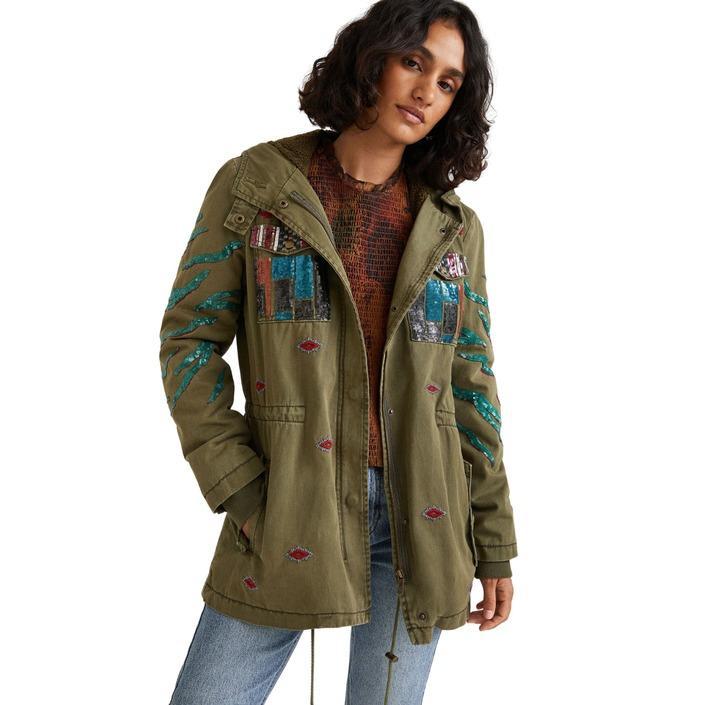 Desigual - Desigual Women Jacket - green 34