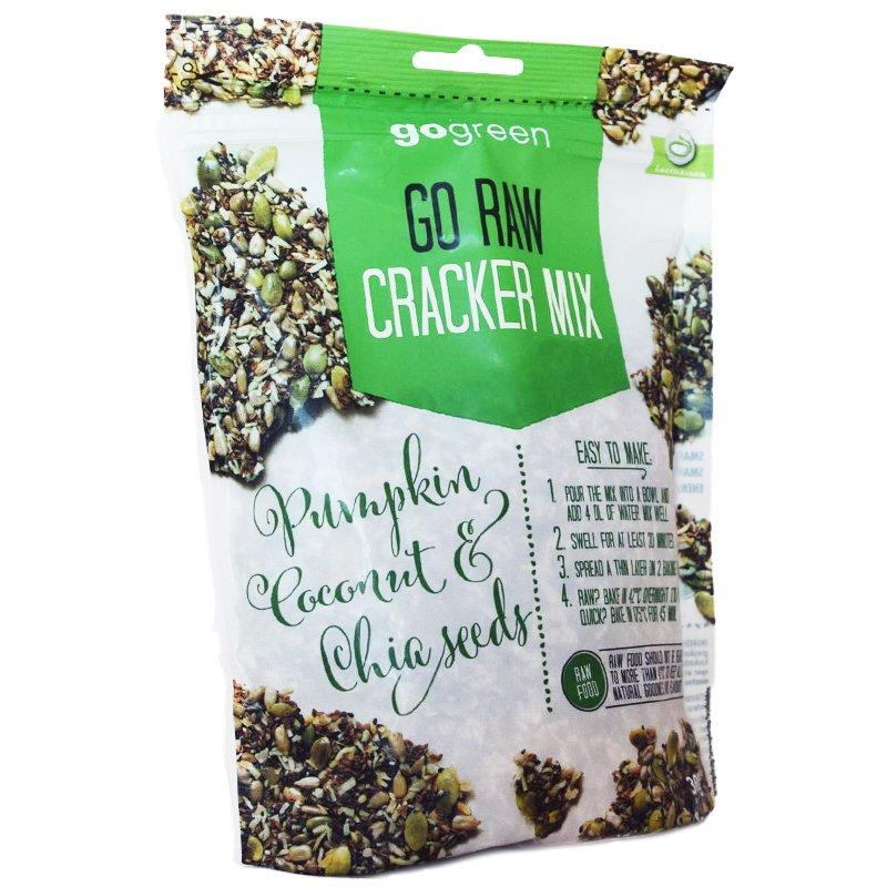 "Keksilajitelma ""Rawfood Crackers"" 300 g - 60% alennus"