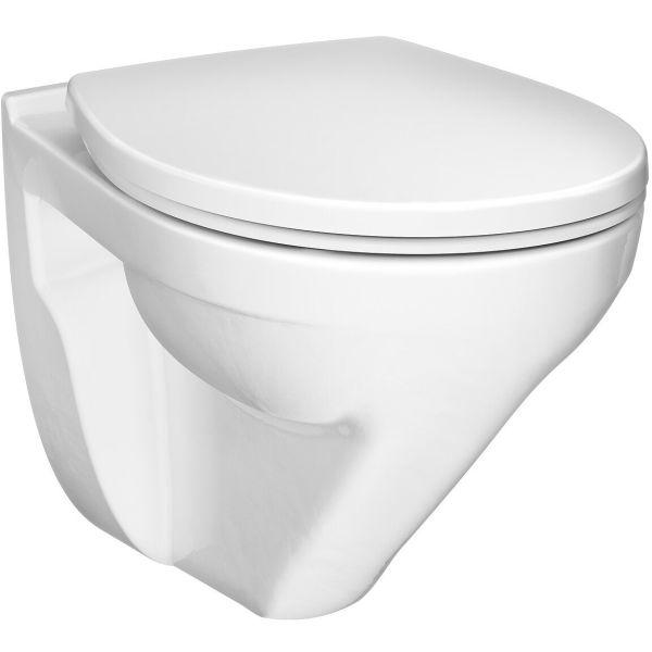 Gustavsberg Nordic³ Toalett med armatur og veggtrykk