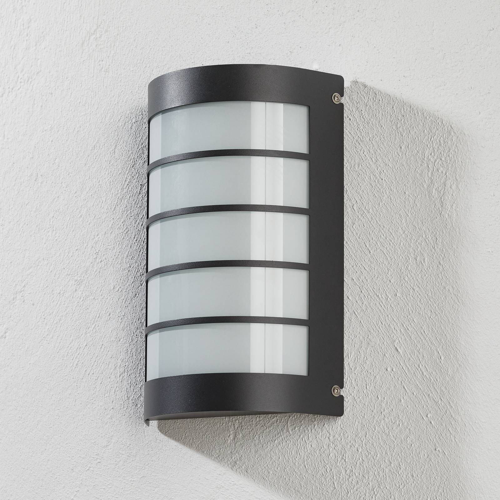 Aqua Marco -LED-valaisin tunnistimella antrasiitti