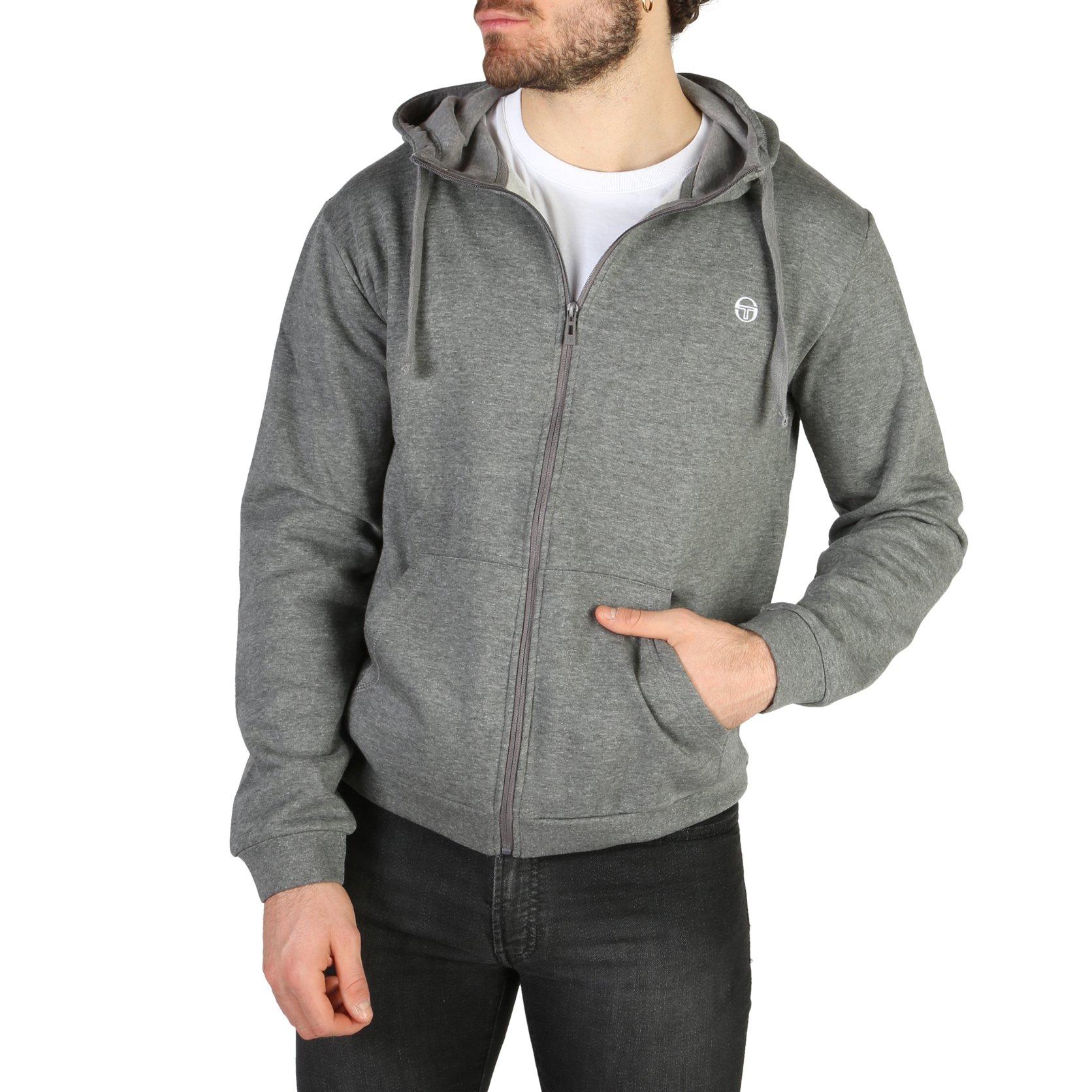 Sergio Tacchini Men's Sweatshirt Various Colours 103-10001 - grey S