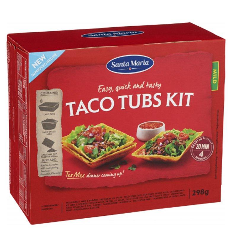 Taco Tubs Kit 298g - 24% alennus