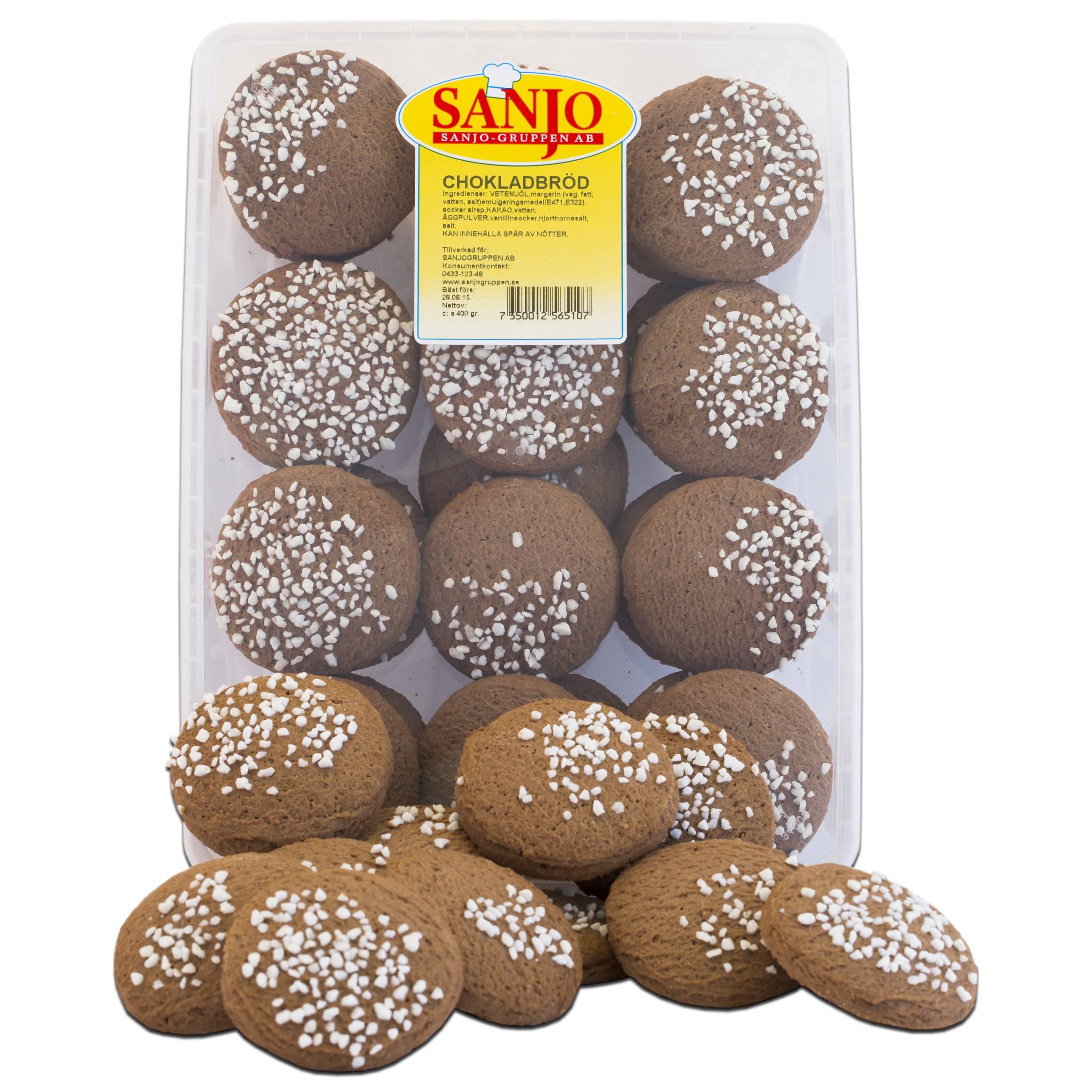 Chokladbröd 350g