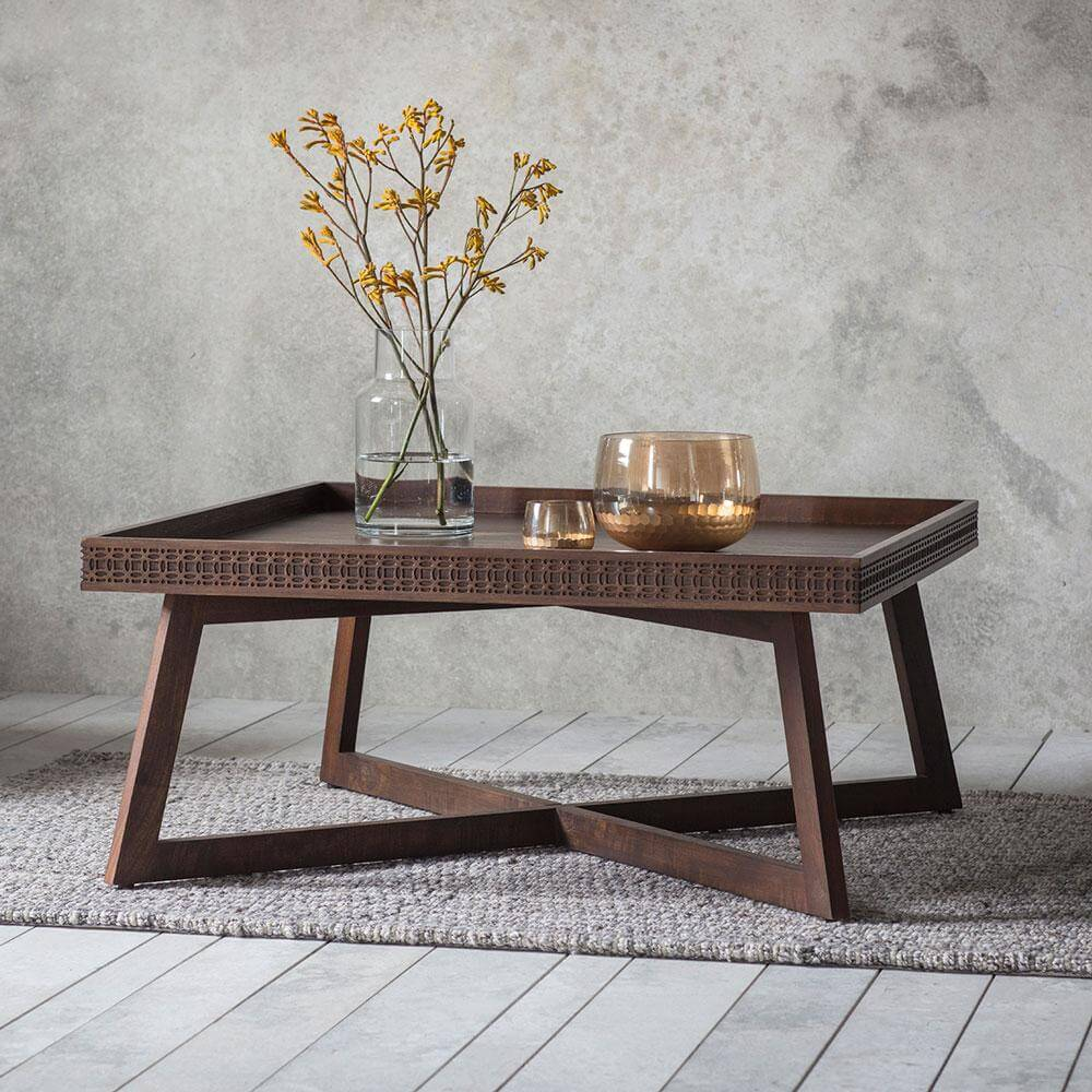 The Chic Brown Coffee Table