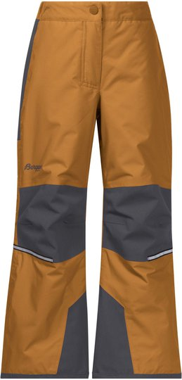 Bergans Storm Insulated Vinterbukse, Desert/Solid Grey 86