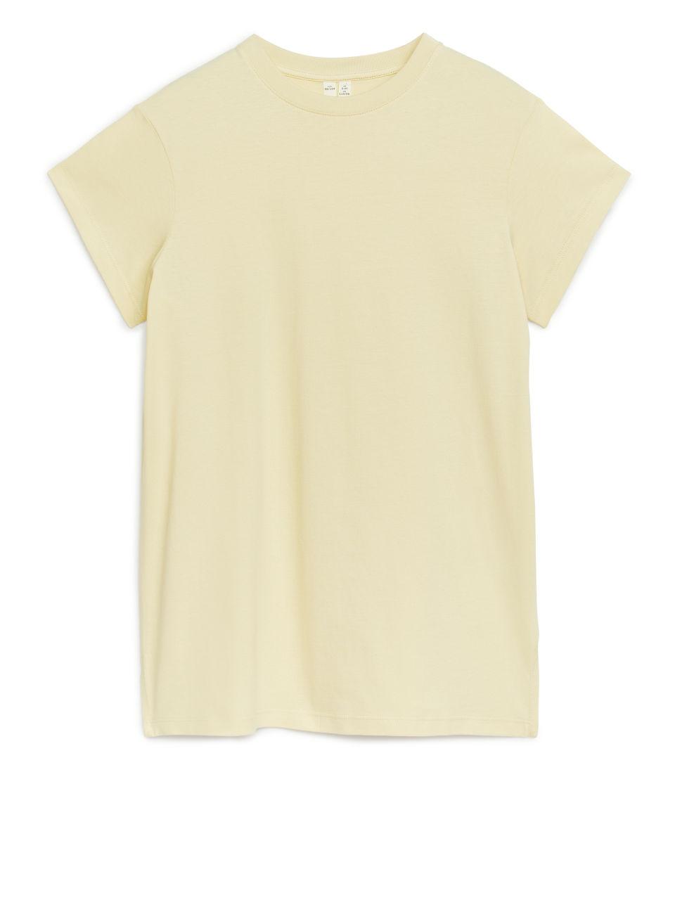 T-Shirt Dress - Yellow