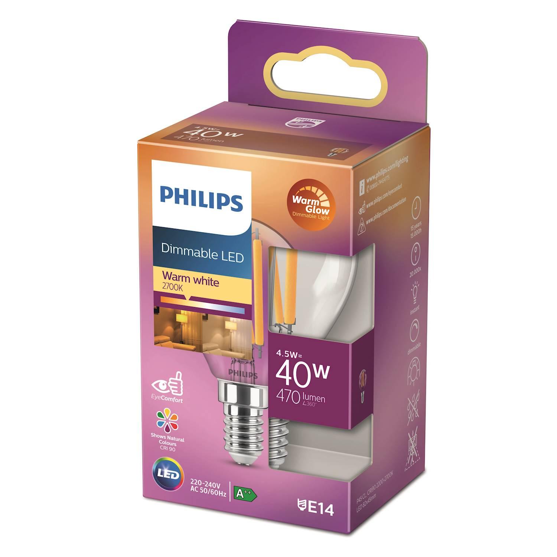 Philips LED Classic 40w klot e14