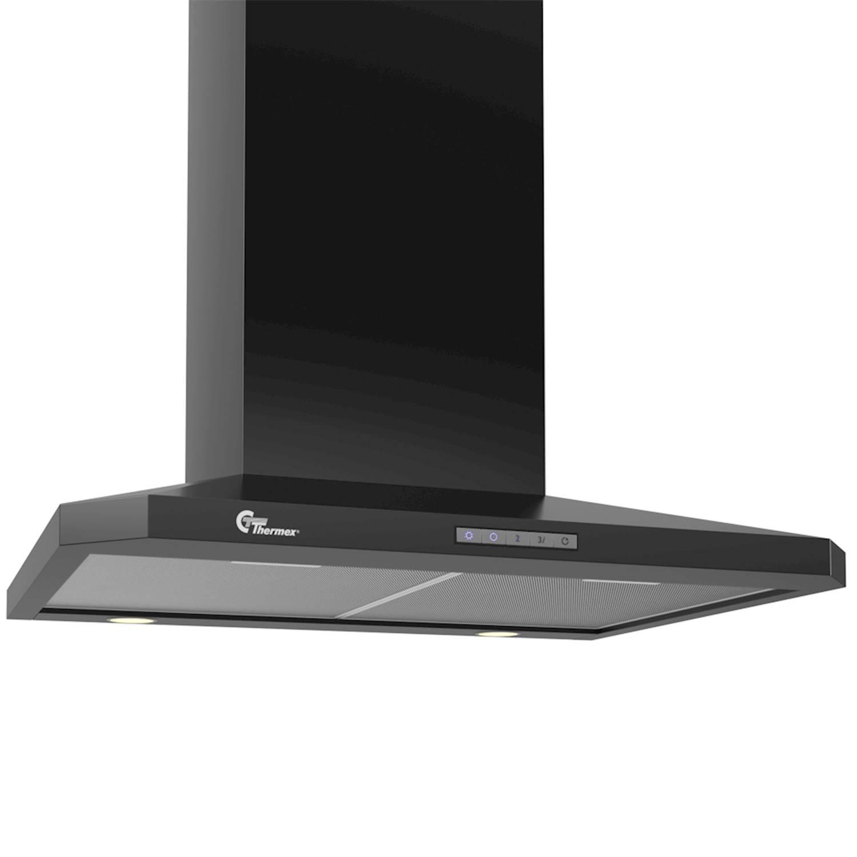 Thermex Decor 787 vägg 60 cm svart