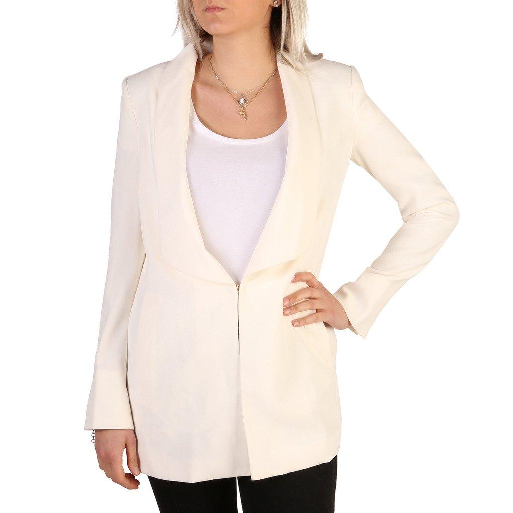 Guess Women's Blazer White 72G203 - white 46 US