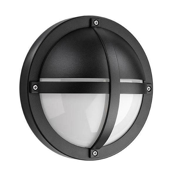 SG Armaturen Tanto Seinävalaisin musta, 11,5 W, hämäräkytkimellä