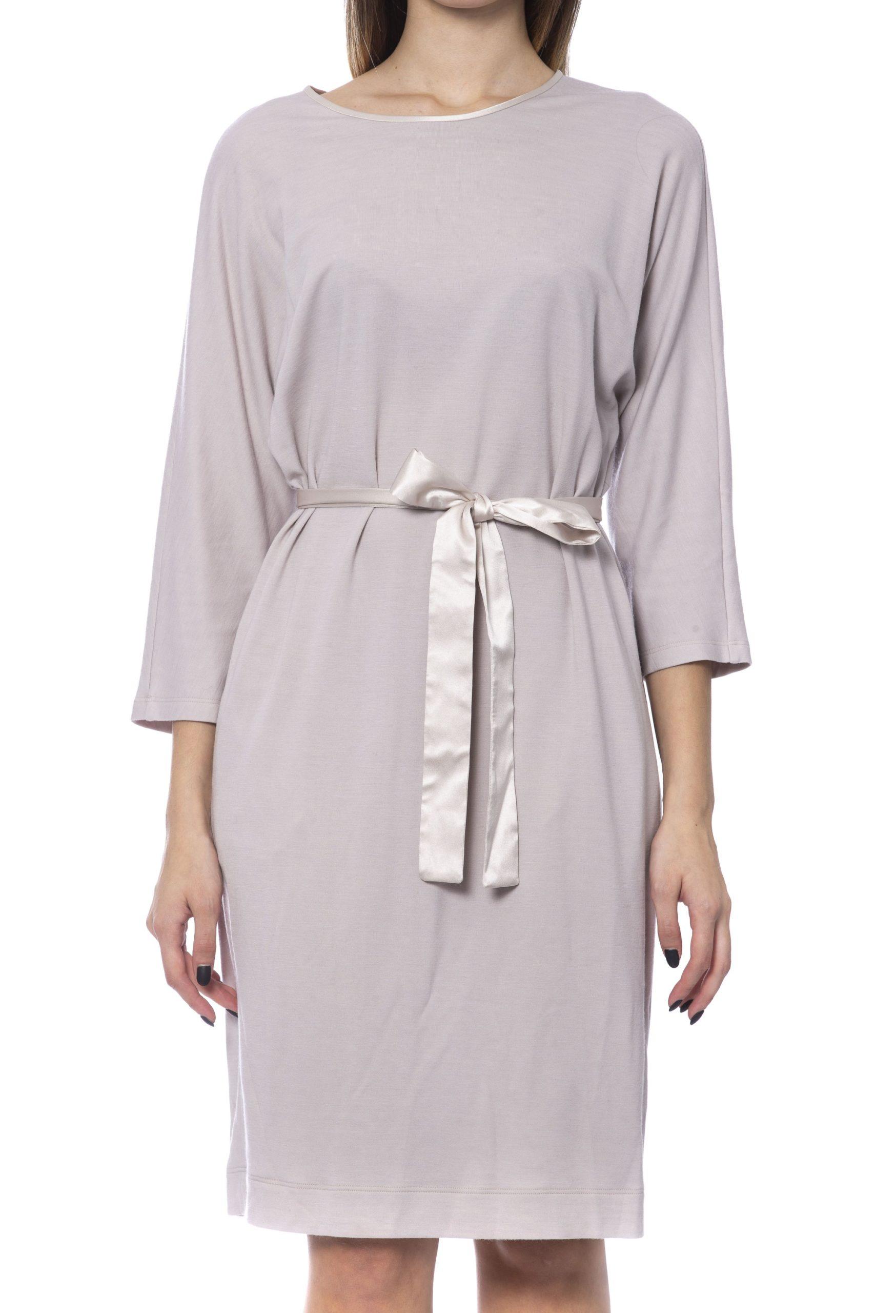 Peserico Women's Dress Beige PE992242 - IT42 | S