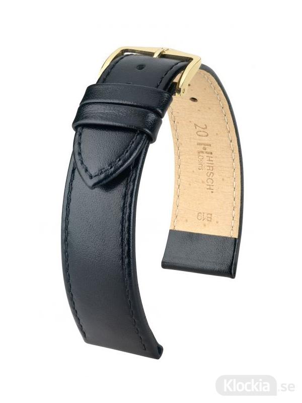 Hirsch Osiris 12mm Medium Svart/Guld 03475150-1-12