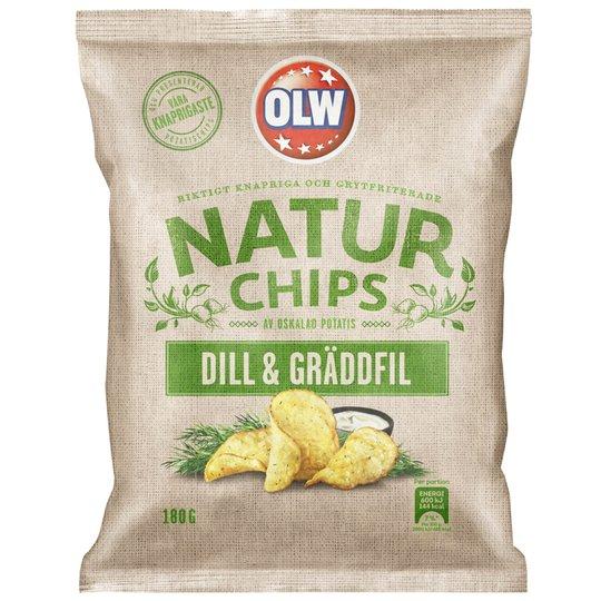 Chips Dill & Gräddfil - 68% rabatt