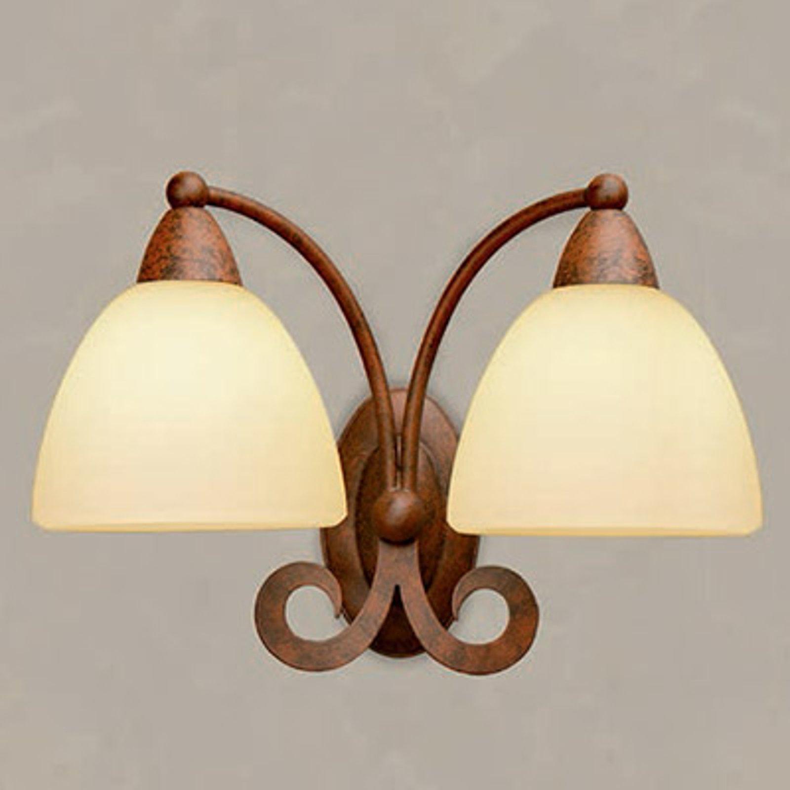 Ginevra taklampe med 2 lyskilder