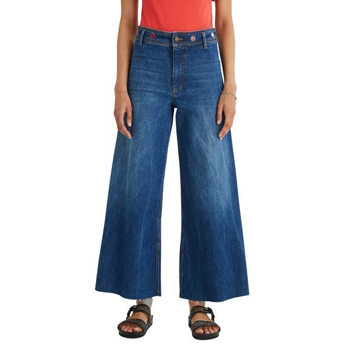 Desigual Women's Jeans Blue 320056 - blue 36