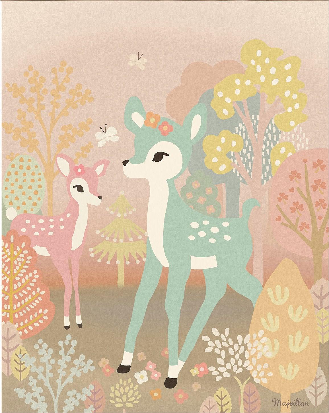 Majvillan Juliste Bambi 40x50