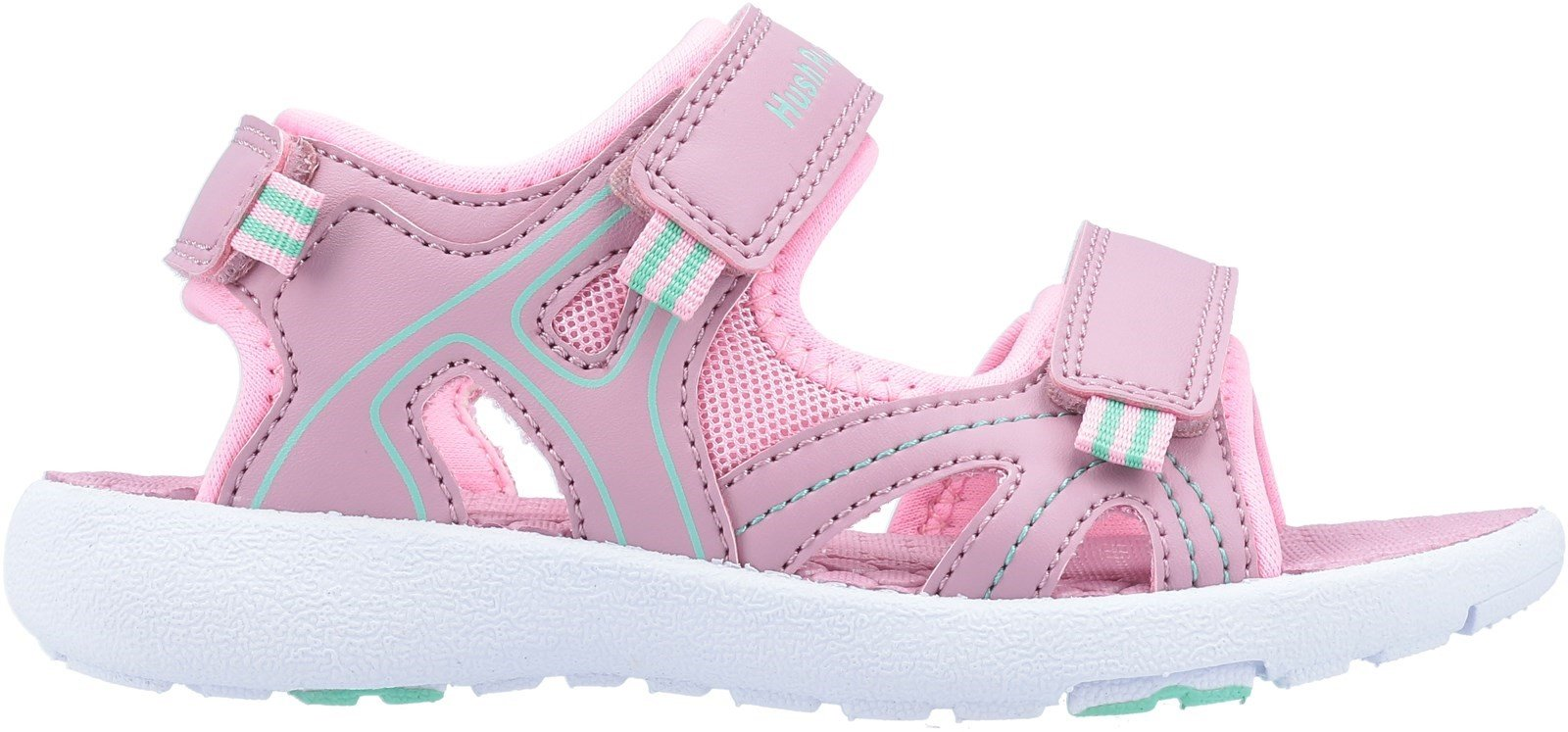 Hush Puppies Women's Lilly Quarter Strap Sandal Various Colours 32652 - Pink 10