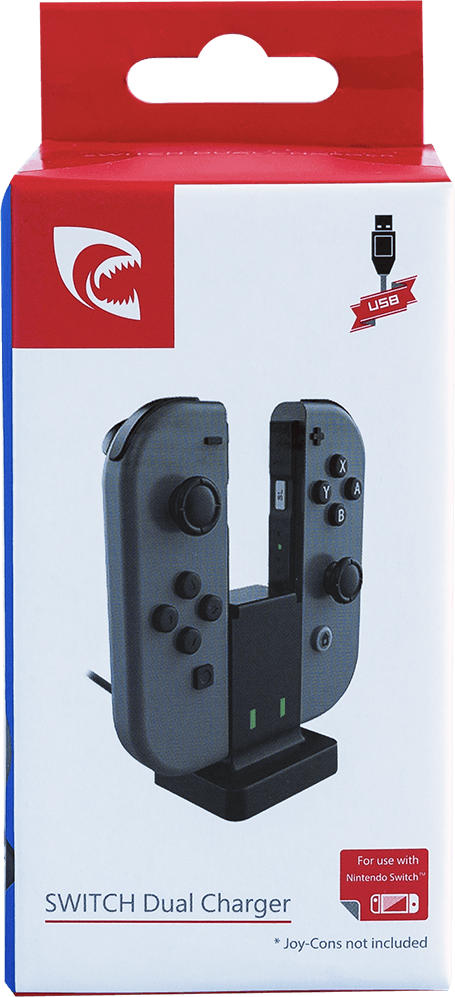 Piranha Switch Dual Charger