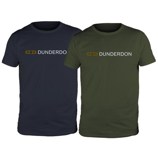Dunderdon T4 T-paita laivastonsininen/vihreä L