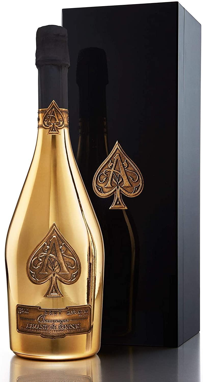 Armand de Brignac Ace of Spades Brut Gold Champagne Gift Box 75cl