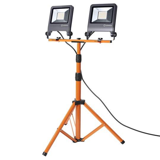 LEDVANCE Worklight Tripod -LED-työvalaisin 2x50W