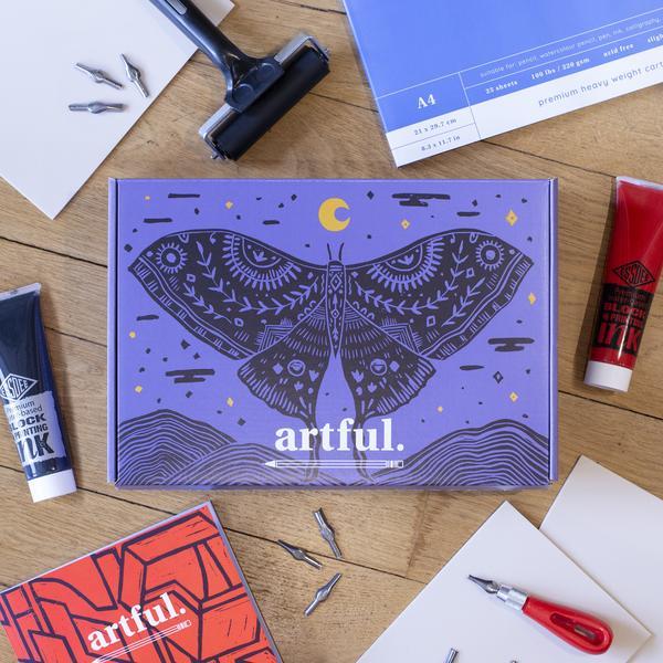 The Artful Lino Printing Starter Box