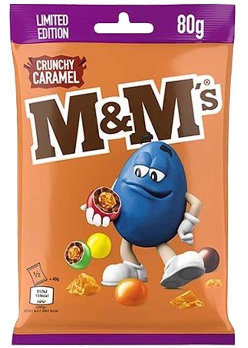 MMs Crunchy Caramel Bag 80g