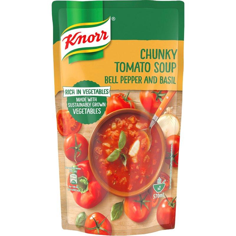"""Tomaattikeitto """"Chunky"""" 570 ml - 29% alennus"""