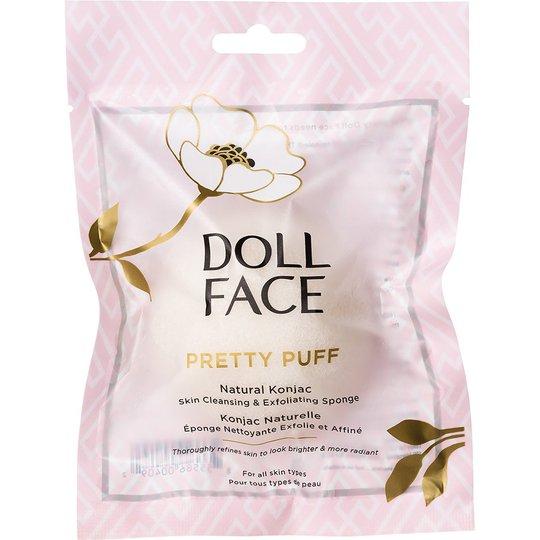 Doll Face Pretty Puff Natural Konjac Cleansing Sponge, Doll Face Kasvoharjat