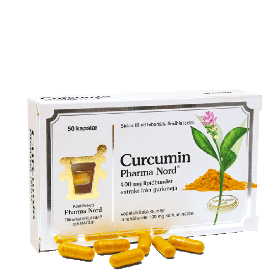 Curcumin, 50 kapslar