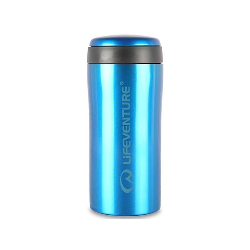 Lifeventure Thermal Mug - Blue Holder på varmen i opptil 4 timer!